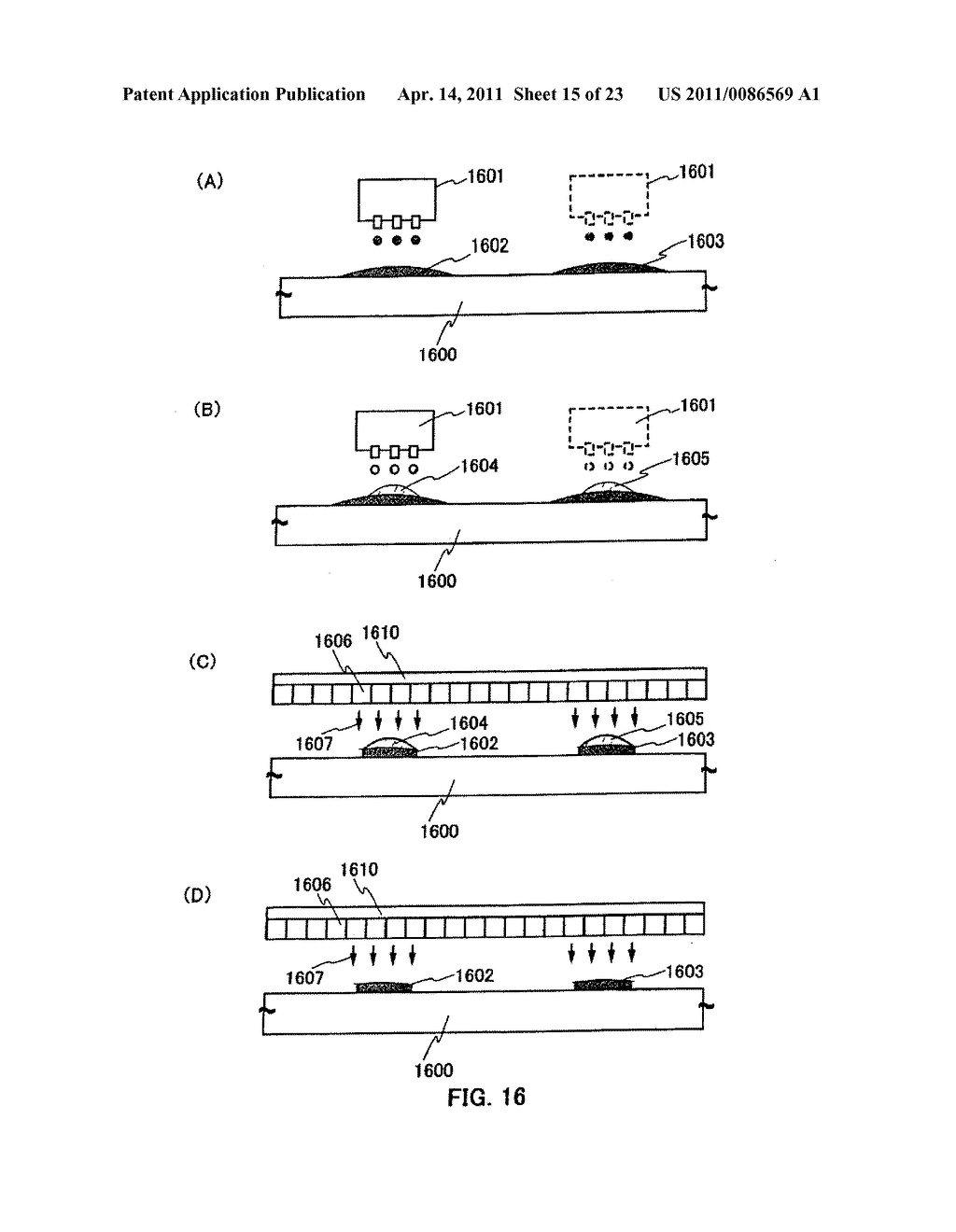 METHOD FOR PRODUCING SEMICONDUCTOR DEVICE AND DISPLAY DEVICE - diagram, schematic, and image 16