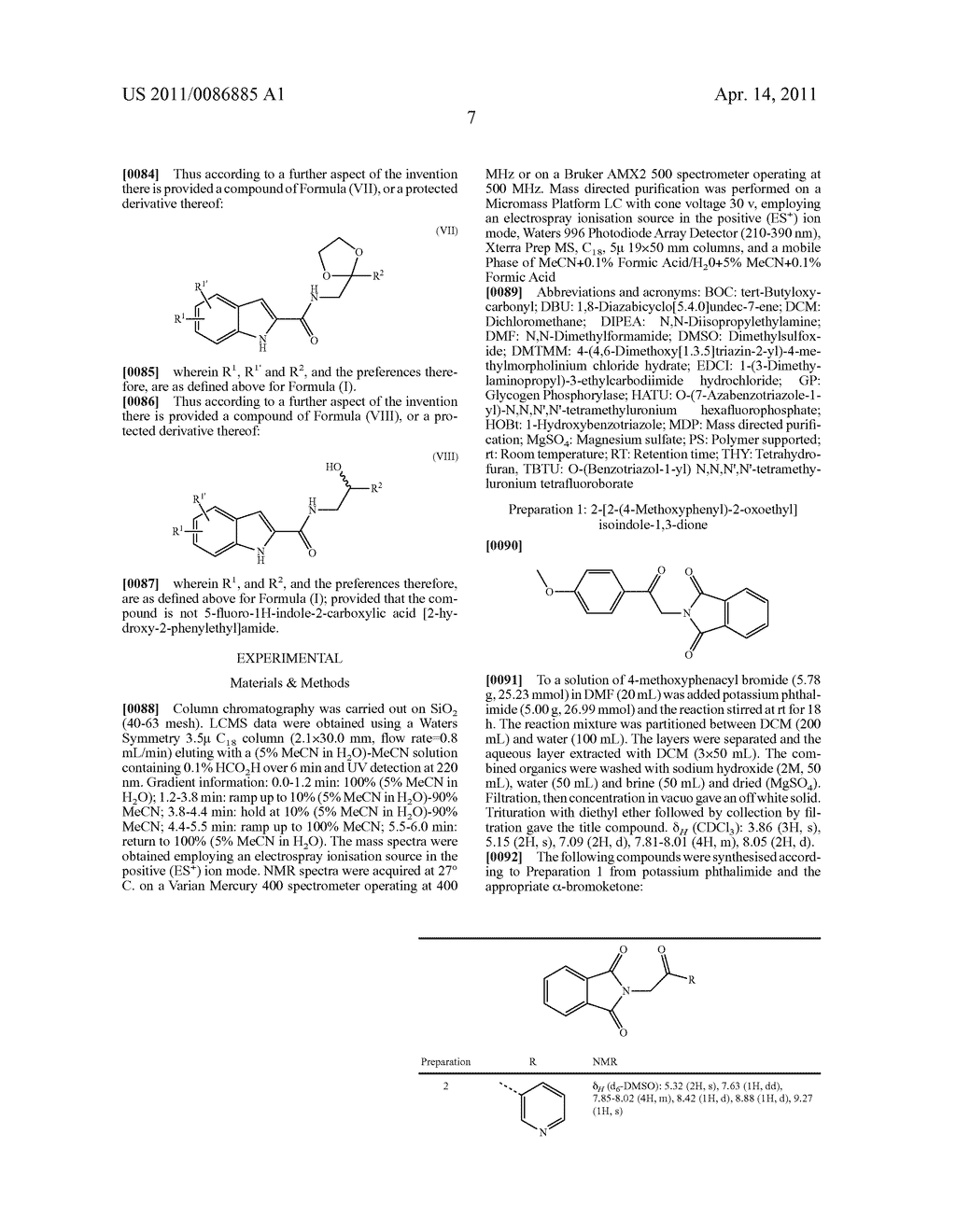 Indole-2-carboxylic acid amides - diagram, schematic, and image 08
