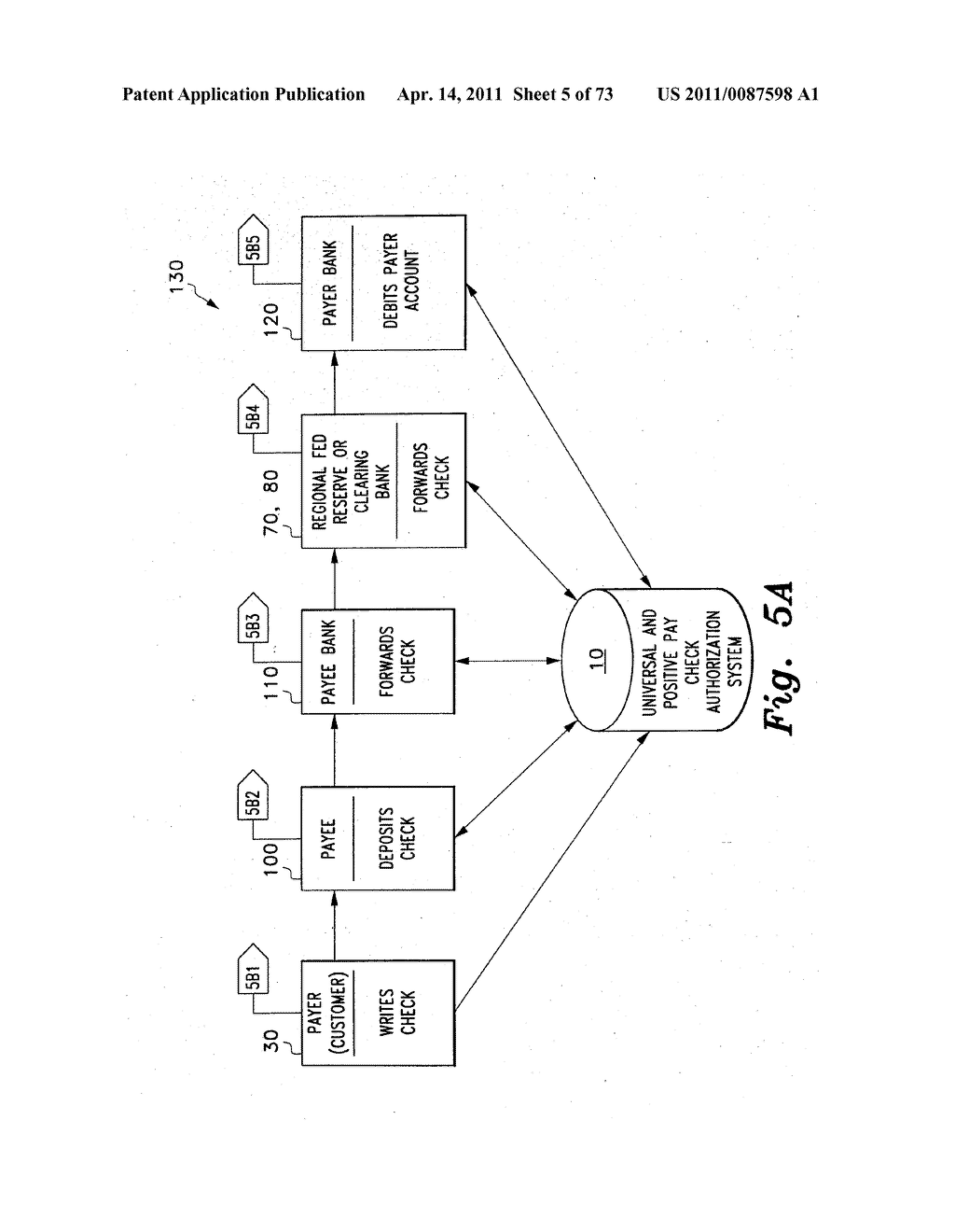 UNIVERSAL POSITIVE PAY MATCH, AUTHENTICATION, AUTHORIZATION, SETTLEMENT AND CLEARING SYSTEM - diagram, schematic, and image 06