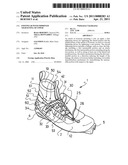 FOOTWEAR WITH IMPROVED TIGHTENING OF UPPER diagram and image