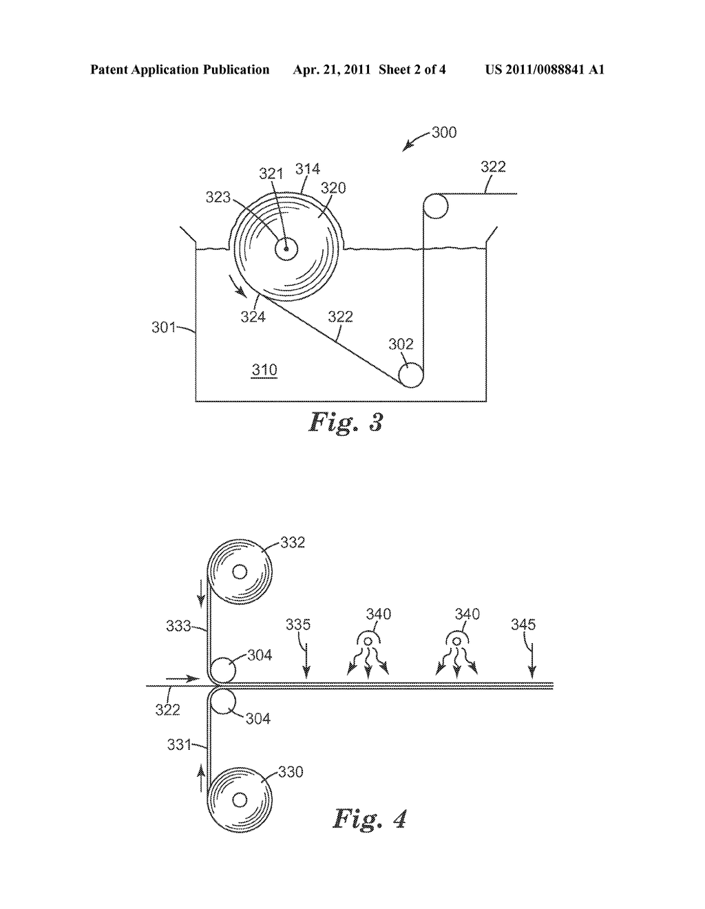 APPARATUS AND METHOD OF IMPREGNATING FIBROUS WEBS - diagram, schematic, and image 03