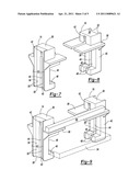 BAR CLAMP ASSEMBLY AND WORKPIECE SUPPORT MEMBERS diagram and image