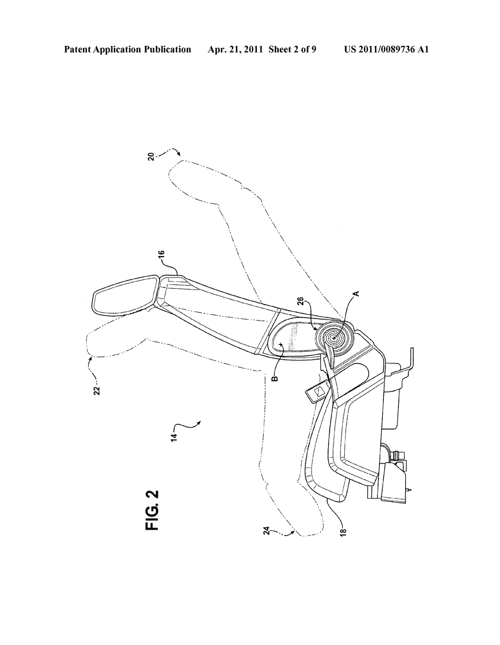 Seat Recliner Mechanism With Fold-Flat Feature - diagram, schematic, and image 03