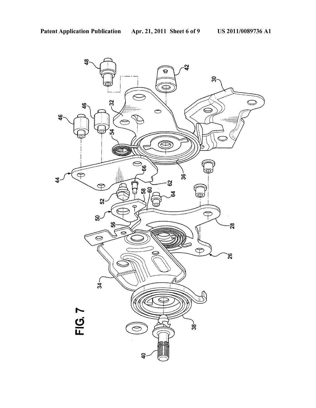 Seat Recliner Mechanism With Fold-Flat Feature - diagram, schematic, and image 07