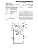 GUIDING SYSTEM FOR THE SAFETY BELT SECURING PASSENGERS OF A VEHICLE diagram and image
