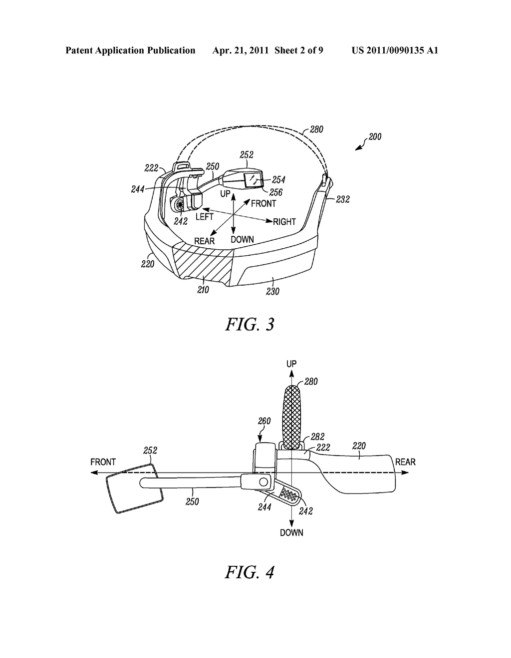 INTERCHANGEABLE DISPLAY DEVICE FOR A HEAD-MOUNTED DISPLAY SYSTEM - diagram, schematic, and image 03