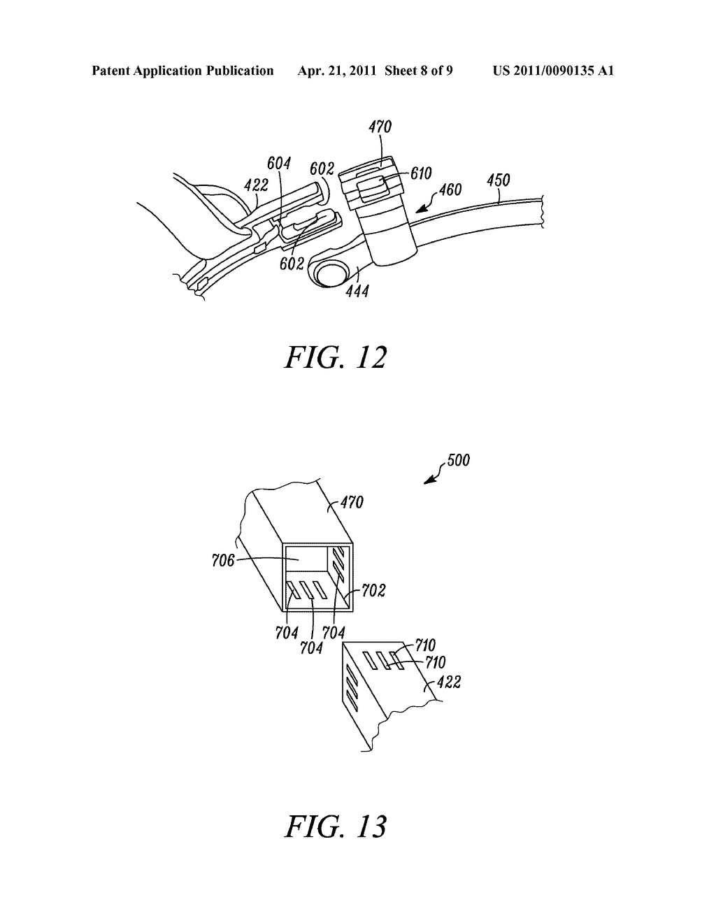 INTERCHANGEABLE DISPLAY DEVICE FOR A HEAD-MOUNTED DISPLAY SYSTEM - diagram, schematic, and image 09