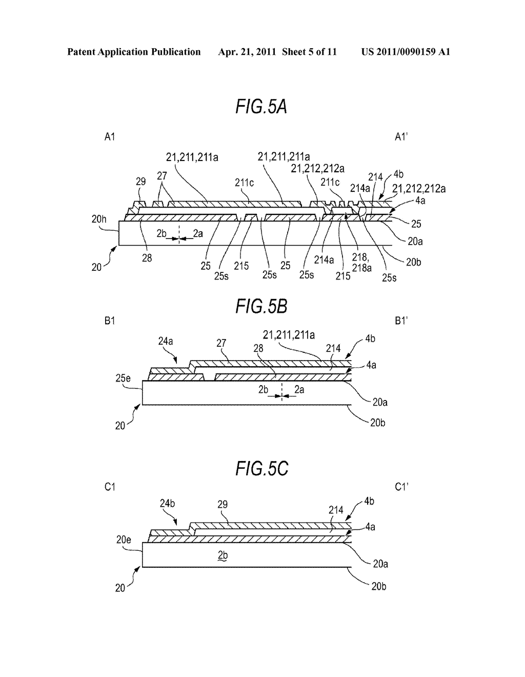 ELECTROSTATIC CAPACITANCE-TYPE INPUT DEVICE AND INPUT DEVICE-ATTACHED ELECTRO-OPTICAL APPARATUS - diagram, schematic, and image 06
