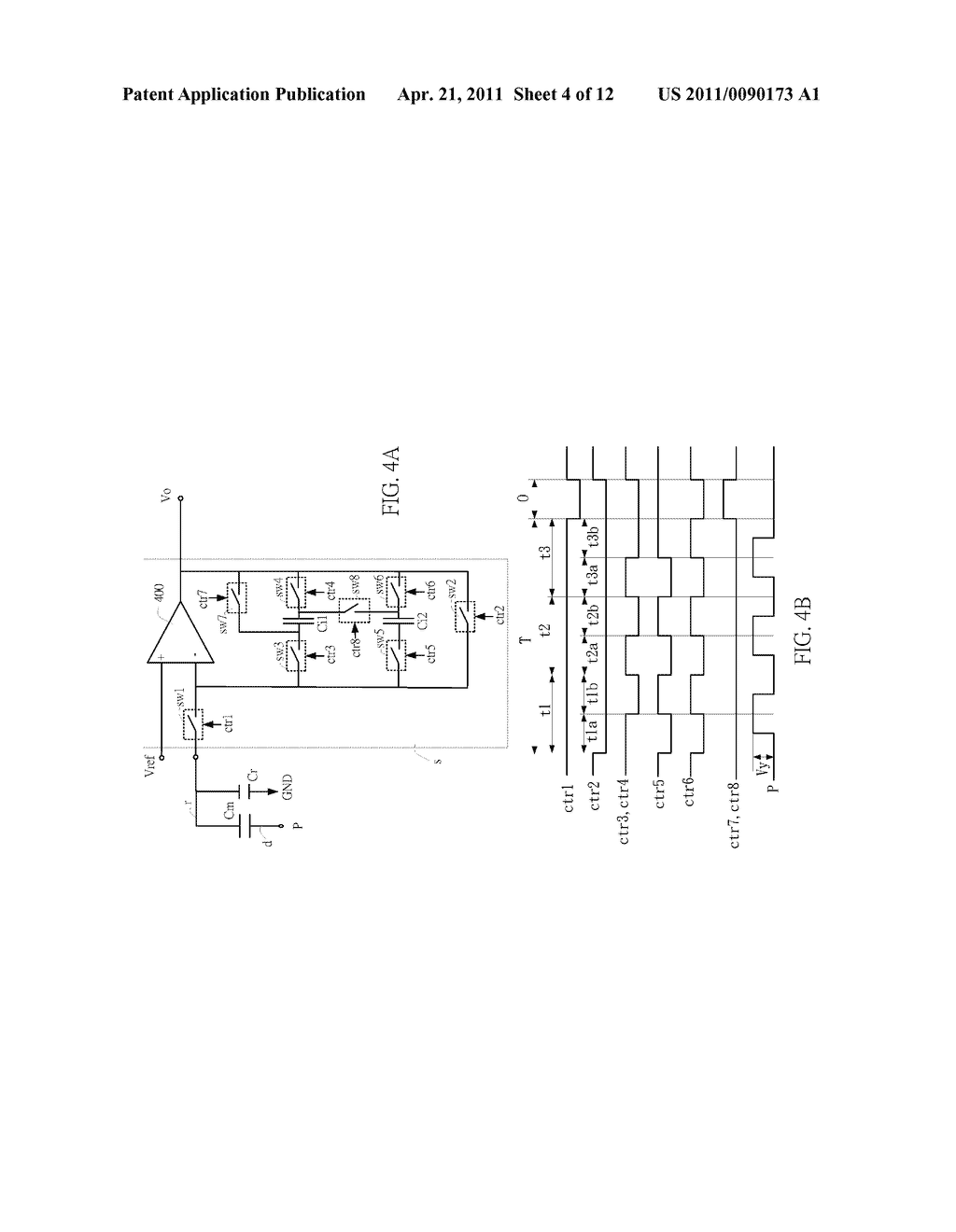 SENSING CIRCUIT FOR USE WITH CAPACITIVE TOUCH PANEL - diagram, schematic, and image 05