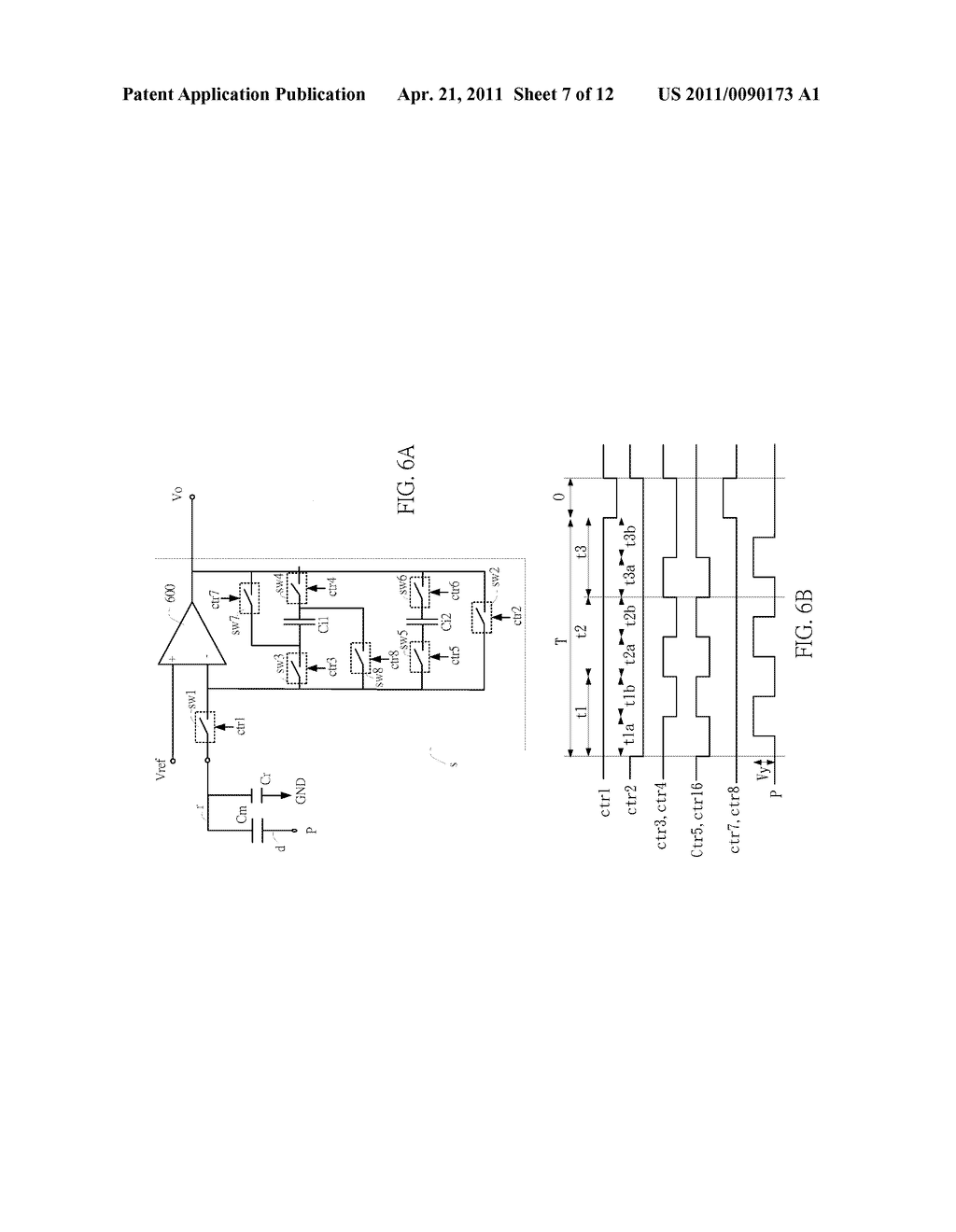 SENSING CIRCUIT FOR USE WITH CAPACITIVE TOUCH PANEL - diagram, schematic, and image 08