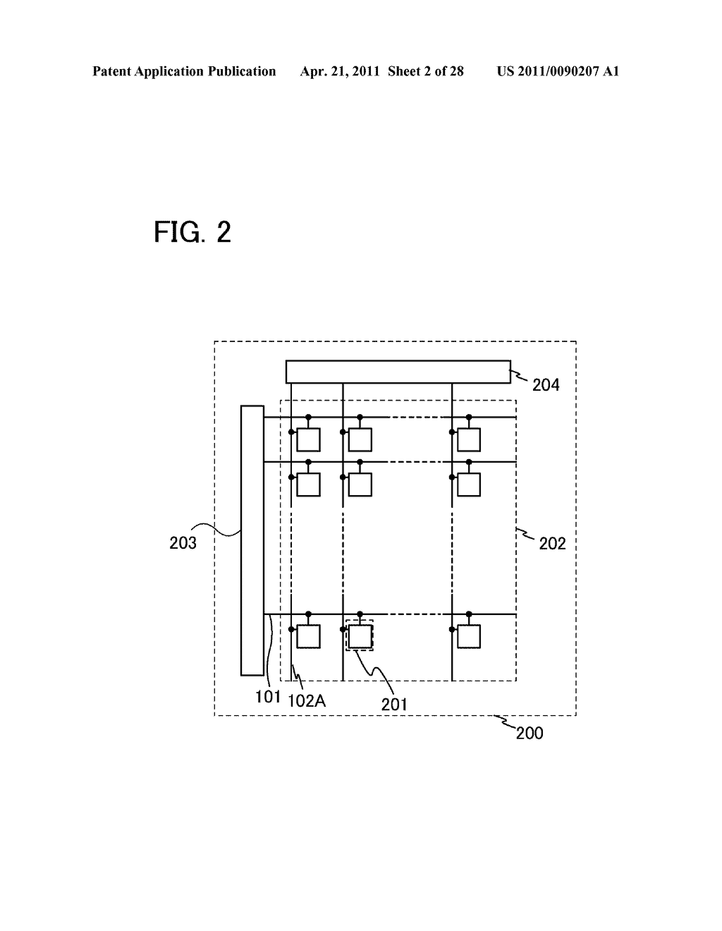 DISPLAY DEVICE AND ELECTRONIC DEVICE INCLUDING DISPLAY DEVICE - diagram, schematic, and image 03