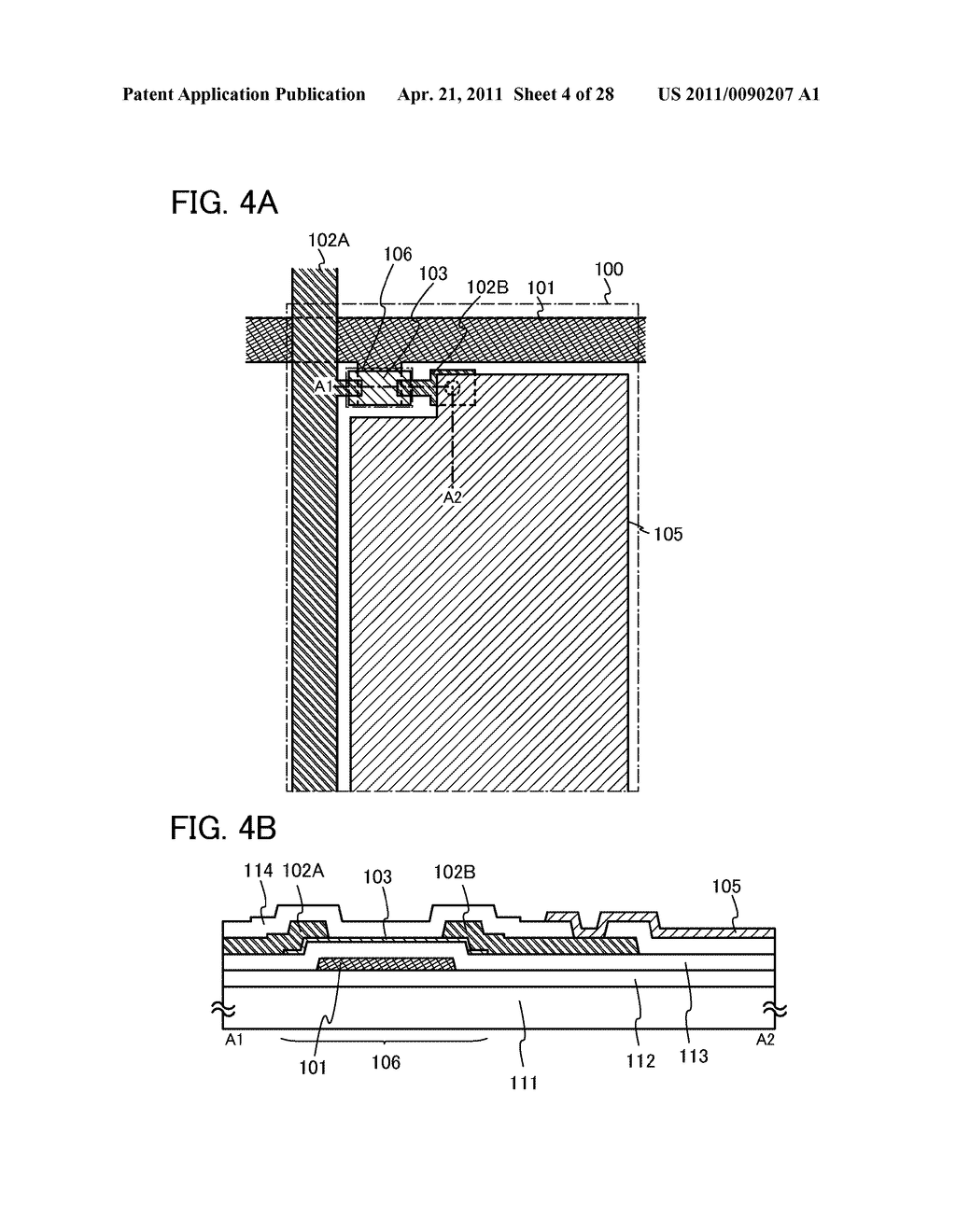 DISPLAY DEVICE AND ELECTRONIC DEVICE INCLUDING DISPLAY DEVICE - diagram, schematic, and image 05