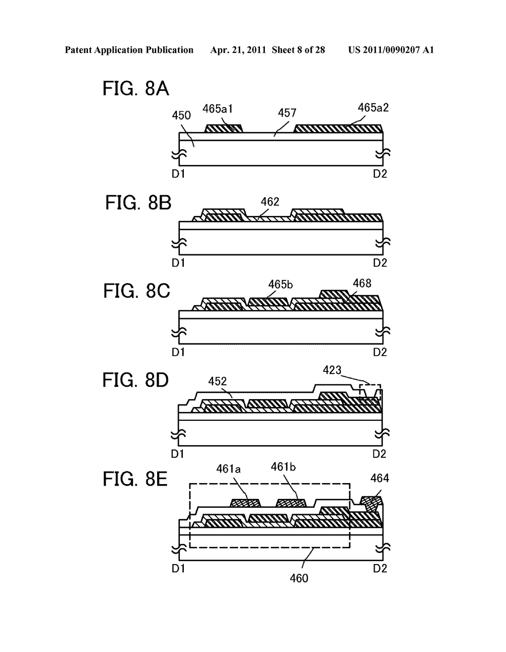 DISPLAY DEVICE AND ELECTRONIC DEVICE INCLUDING DISPLAY DEVICE - diagram, schematic, and image 09