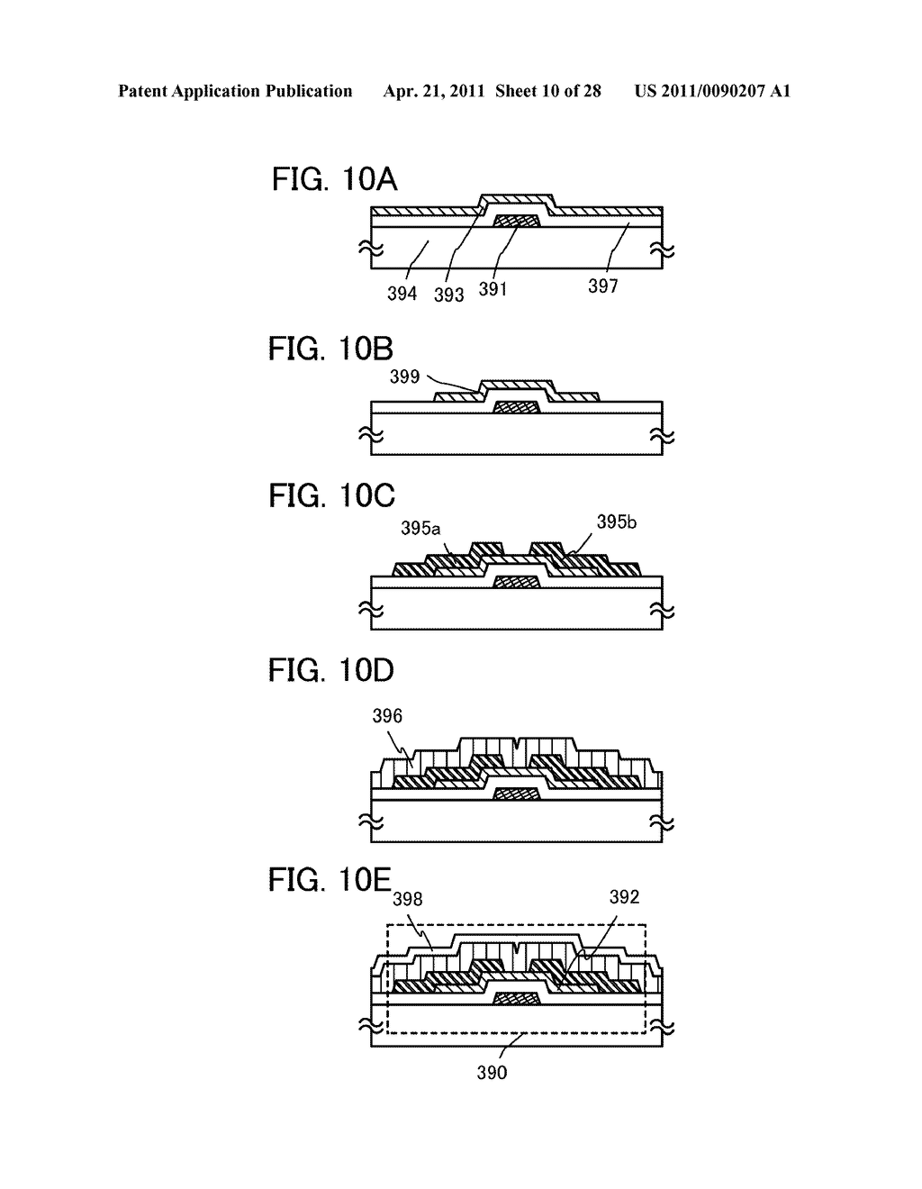 DISPLAY DEVICE AND ELECTRONIC DEVICE INCLUDING DISPLAY DEVICE - diagram, schematic, and image 11