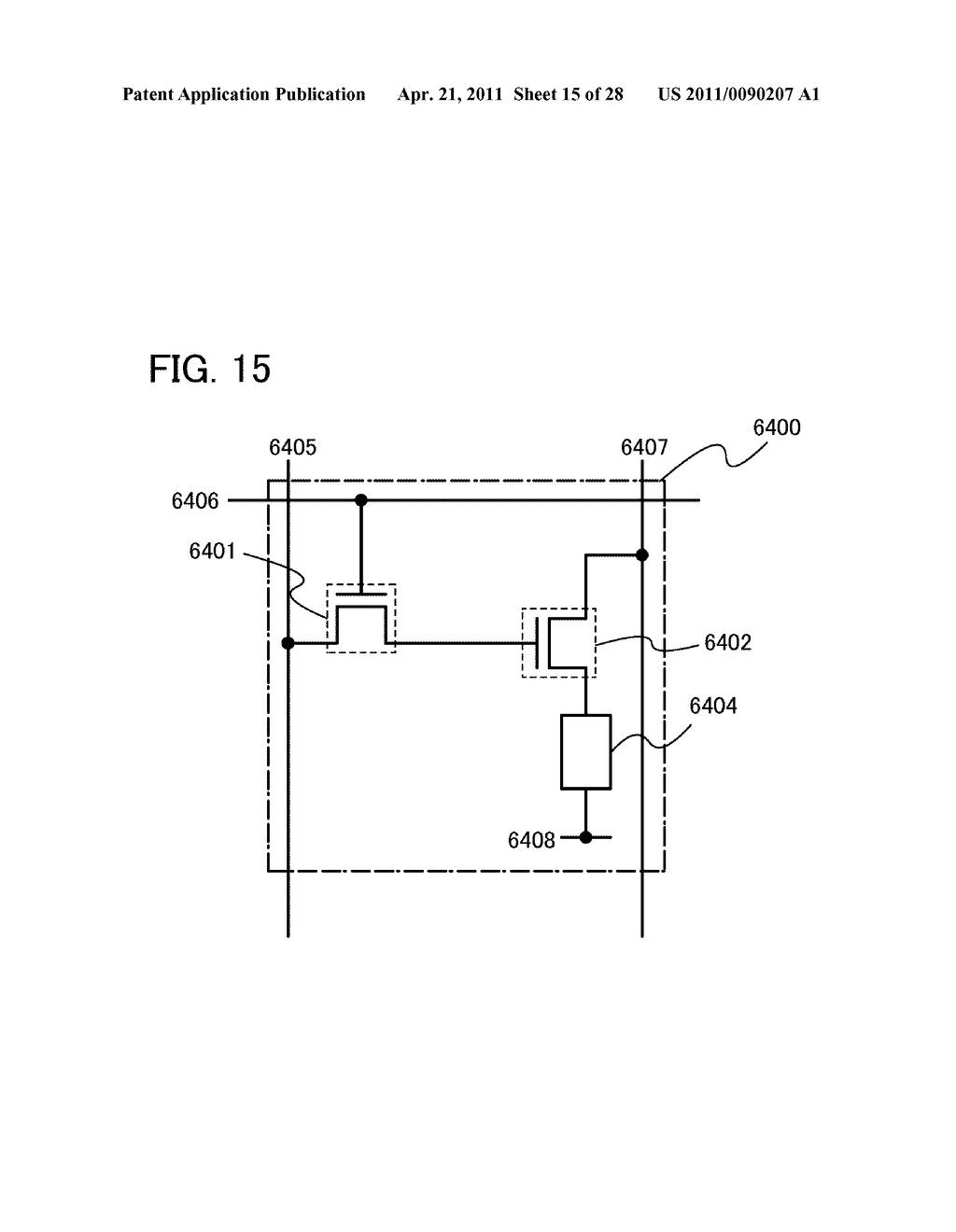 DISPLAY DEVICE AND ELECTRONIC DEVICE INCLUDING DISPLAY DEVICE - diagram, schematic, and image 16