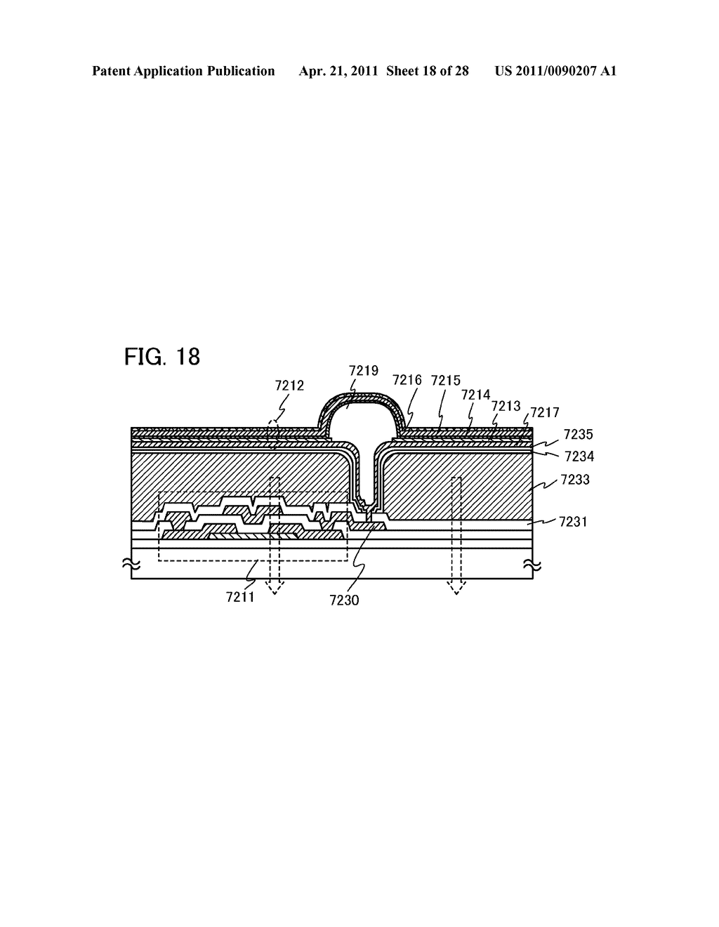 DISPLAY DEVICE AND ELECTRONIC DEVICE INCLUDING DISPLAY DEVICE - diagram, schematic, and image 19