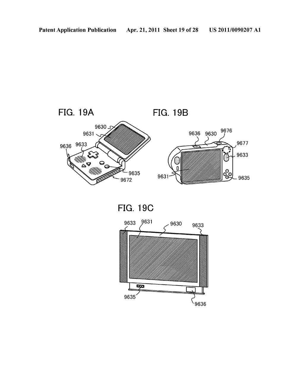 DISPLAY DEVICE AND ELECTRONIC DEVICE INCLUDING DISPLAY DEVICE - diagram, schematic, and image 20