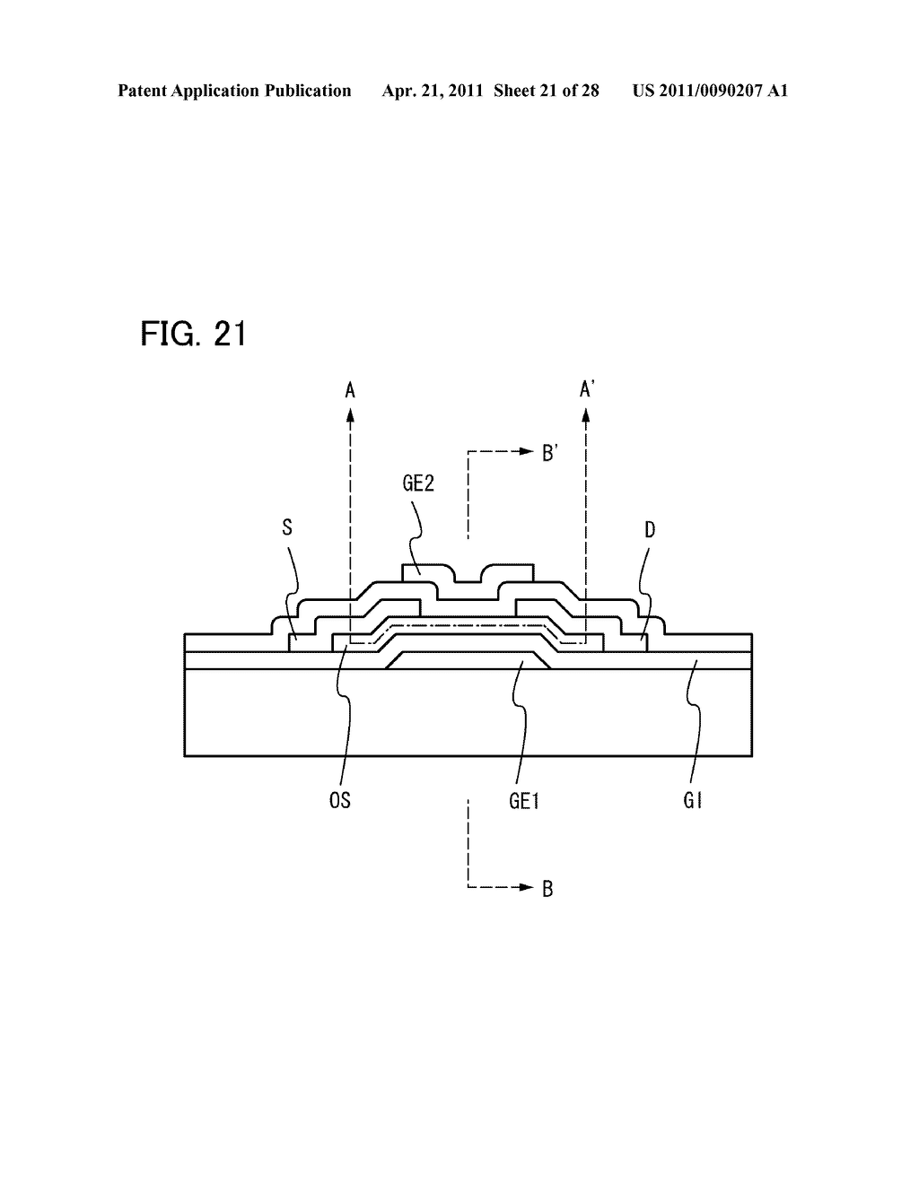 DISPLAY DEVICE AND ELECTRONIC DEVICE INCLUDING DISPLAY DEVICE - diagram, schematic, and image 22