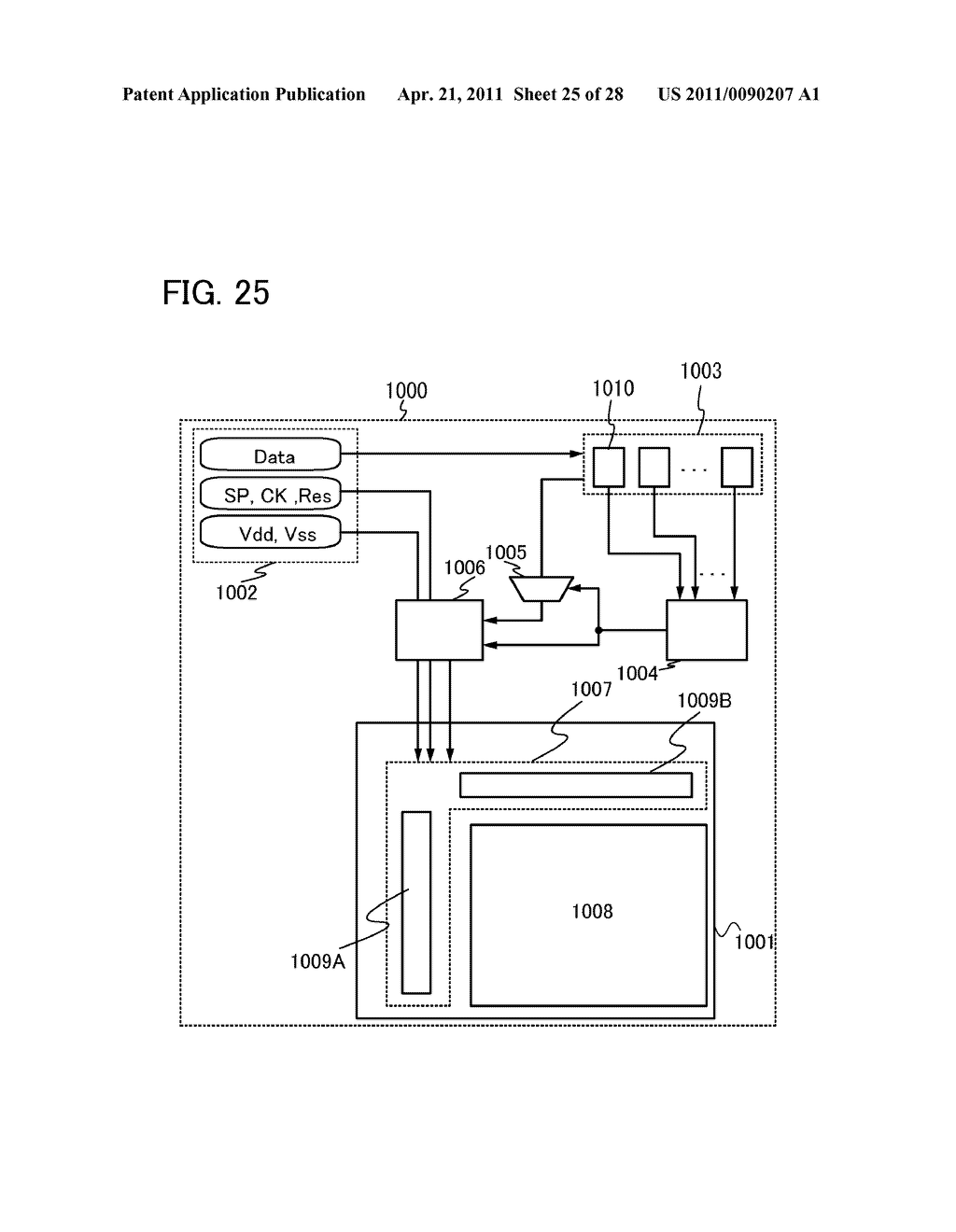 DISPLAY DEVICE AND ELECTRONIC DEVICE INCLUDING DISPLAY DEVICE - diagram, schematic, and image 26