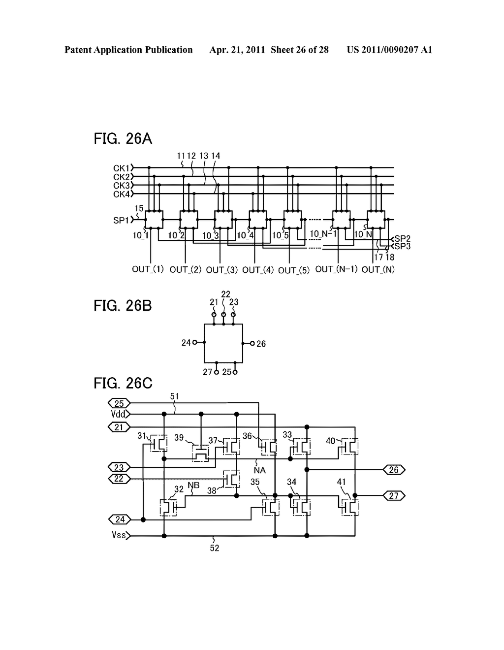 DISPLAY DEVICE AND ELECTRONIC DEVICE INCLUDING DISPLAY DEVICE - diagram, schematic, and image 27