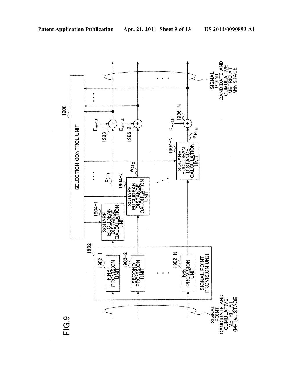 MOBILE COMMUNICATION SYSTEM, RECEIVER AND METHOD - diagram, schematic, and image 10