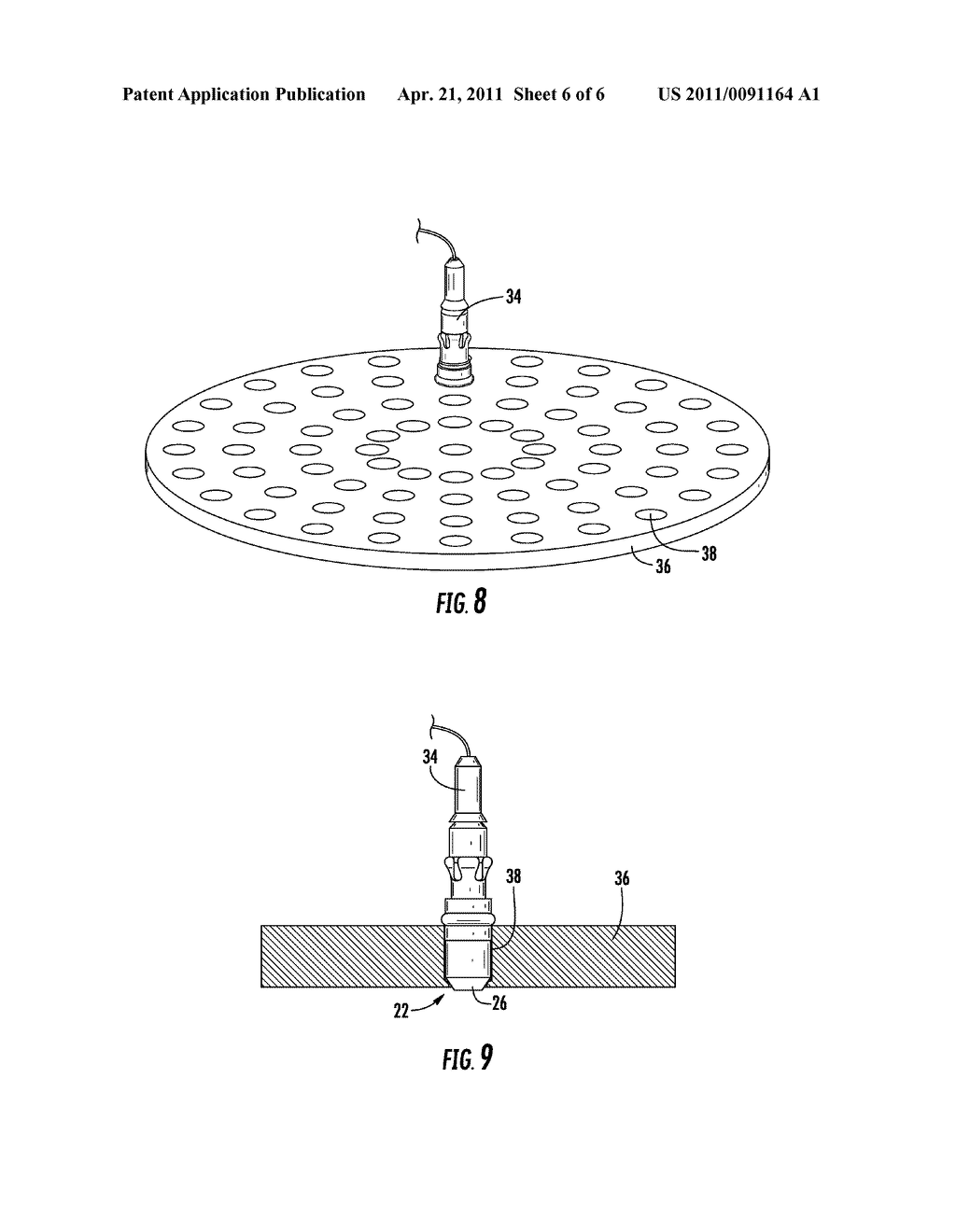 Hardened Low Back Reflection Optical Fiber Physical Contacts and Connectors Containing Such Contacts and Method for Making the Same - diagram, schematic, and image 07
