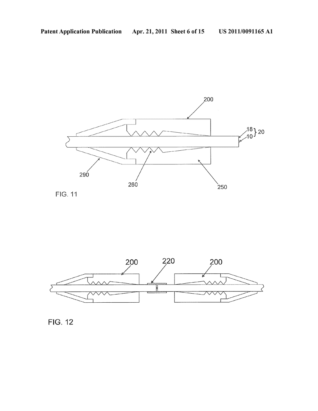 Fiber Optic Connectors and Structures for Large Core Optical Fibers and Methods for Making the Same - diagram, schematic, and image 07