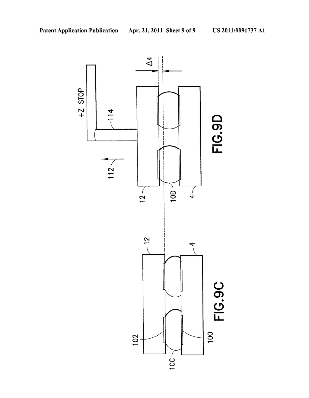 Method And Apparatus Providing a Structure Relative To a Support - diagram, schematic, and image 10