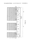 NONVOLATILE SEMICONDUCTOR MEMORY AND PROCESS OF PRODUCING THE SAME diagram and image