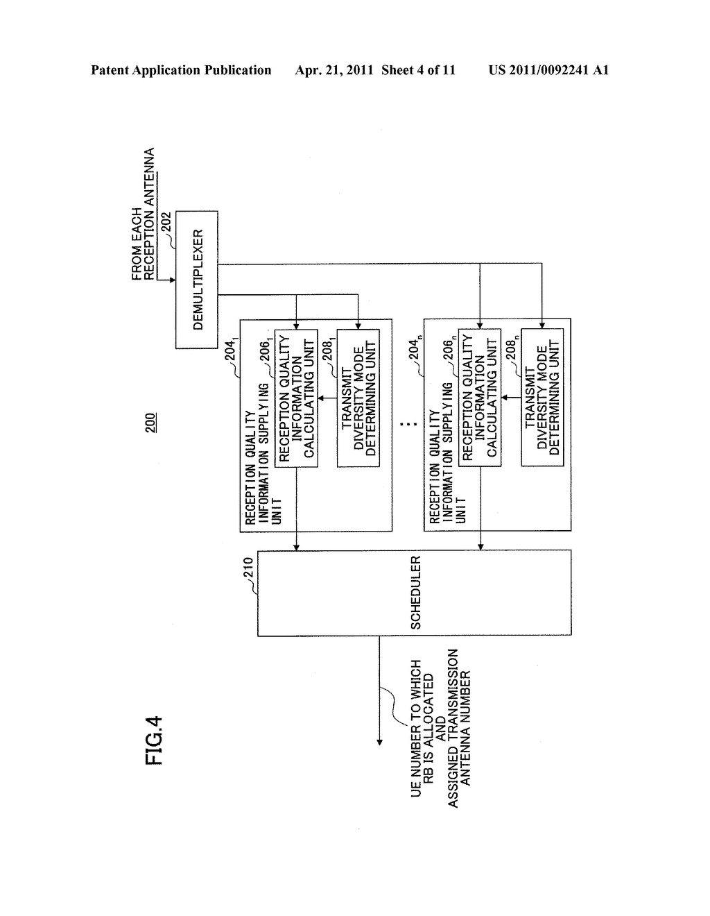 BASE STATION APPARATUS, USER EQUIPMENT TERMINAL, AND COMMUNICATION CONTROL METHOD - diagram, schematic, and image 05