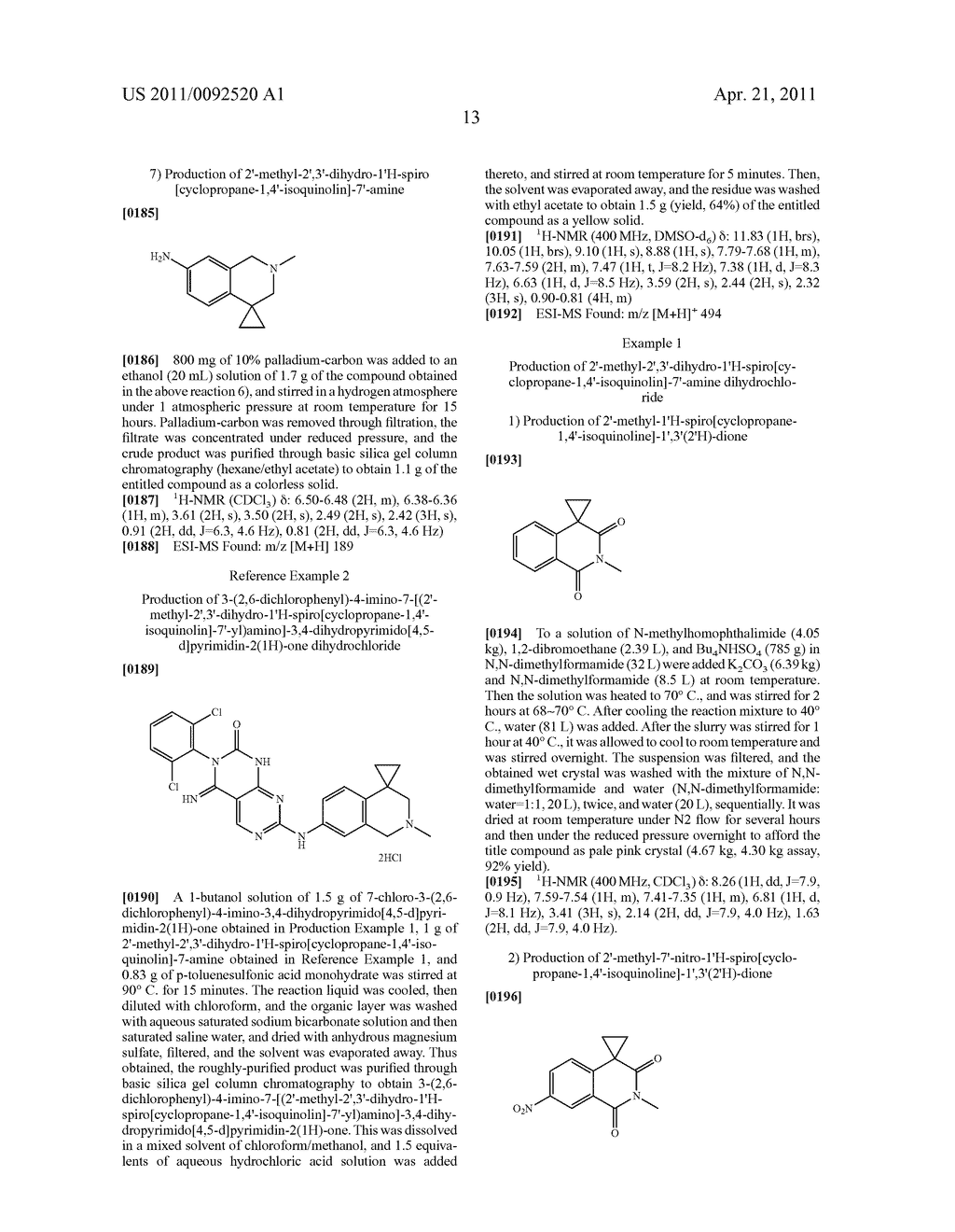 PROCESS FOR PRODUCING BICYCLOANILINE DERIVATIVES - diagram, schematic, and image 15