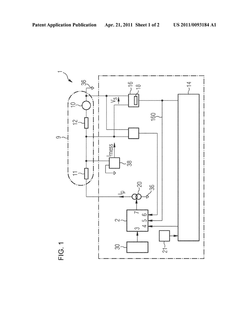 CONTROL CIRCUIT FOR AN ELECTROCHEMICAL GAS SENSOR AND METHOD FOR ADJUSTING AN ELECTROCHEMICAL GAS SENSOR - diagram, schematic, and image 02