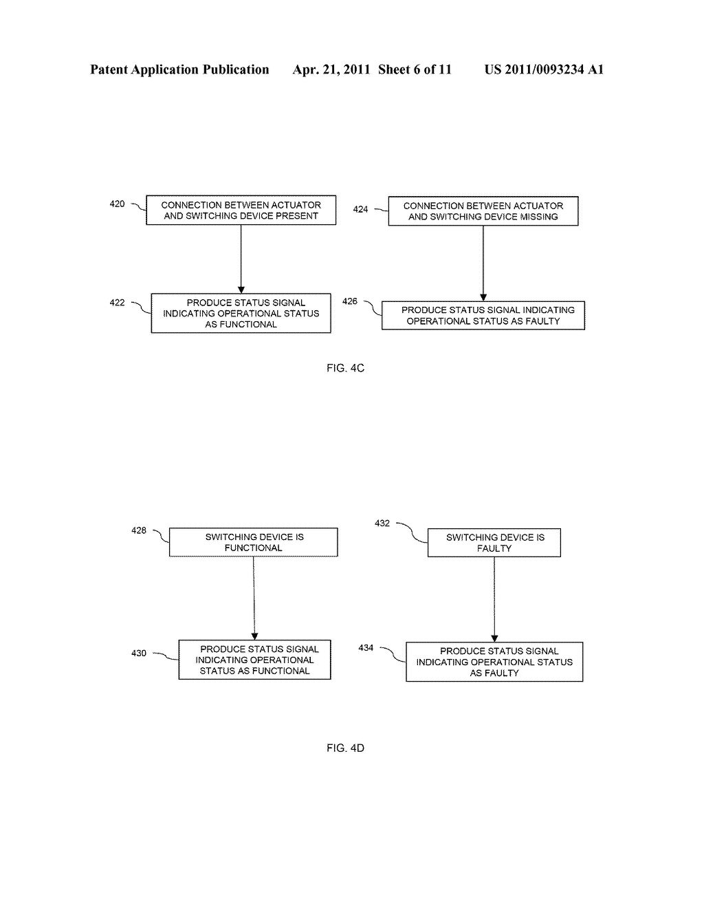 METHOD AND APPARATUS FOR DETECTING FAILURE OF AN ACTUATOR SWITCHING DEVICE - diagram, schematic, and image 07