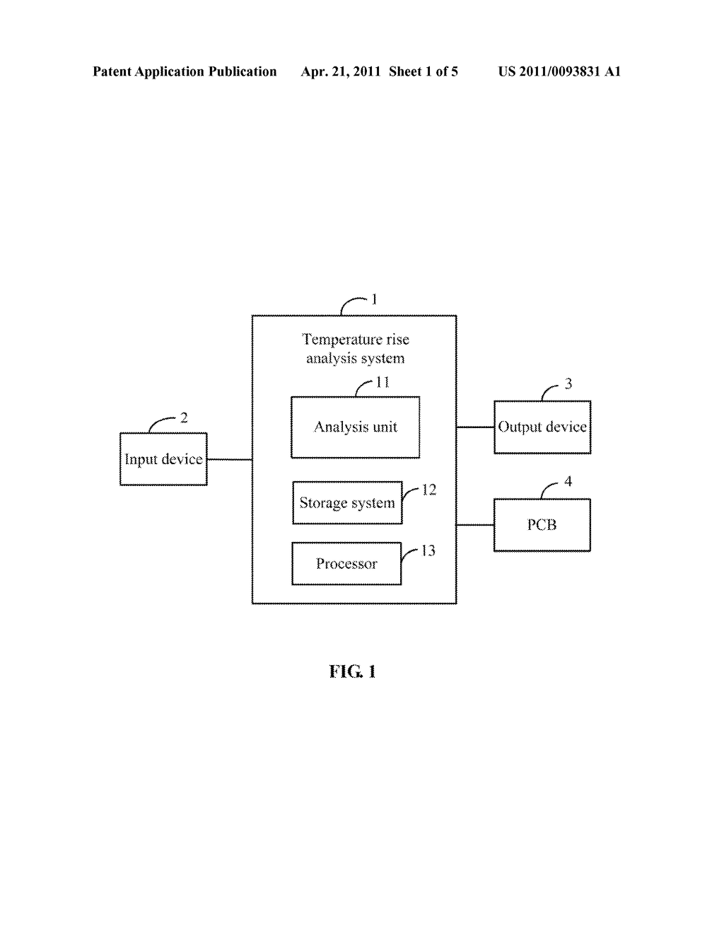 SYSTEM AND METHOD FOR ANALYZING TEMPERATURE RISE OF A PRINTED CIRCUIT BOARD - diagram, schematic, and image 02