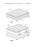 MATTRESS ASSEMBLY WITH CONVERTIBLE TOPPER diagram and image