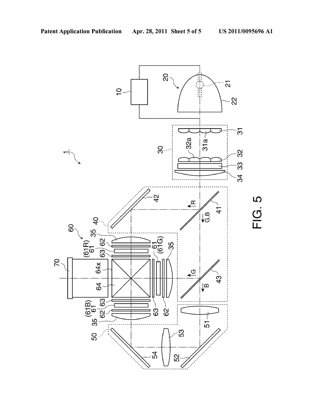 DISCHARGE LAMP LIGHTING DEVICE, PROJECTOR, AND METHOD FOR DRIVING DISCHARGE LAMP - diagram, schematic, and image 06
