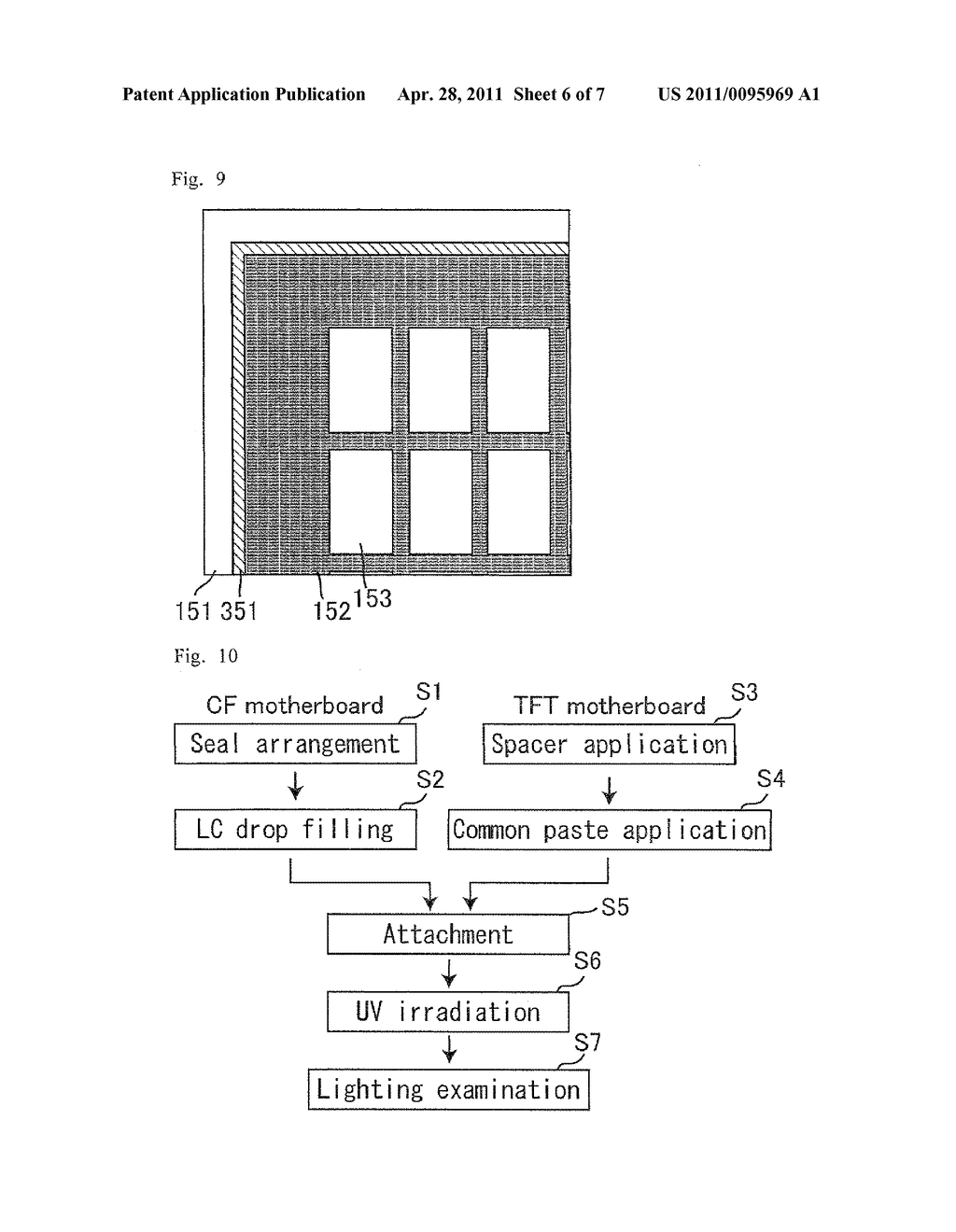 LIQUID CRYSTAL DISPLAY DEVICE AND PRODUCTION THEREOF - diagram, schematic, and image 07