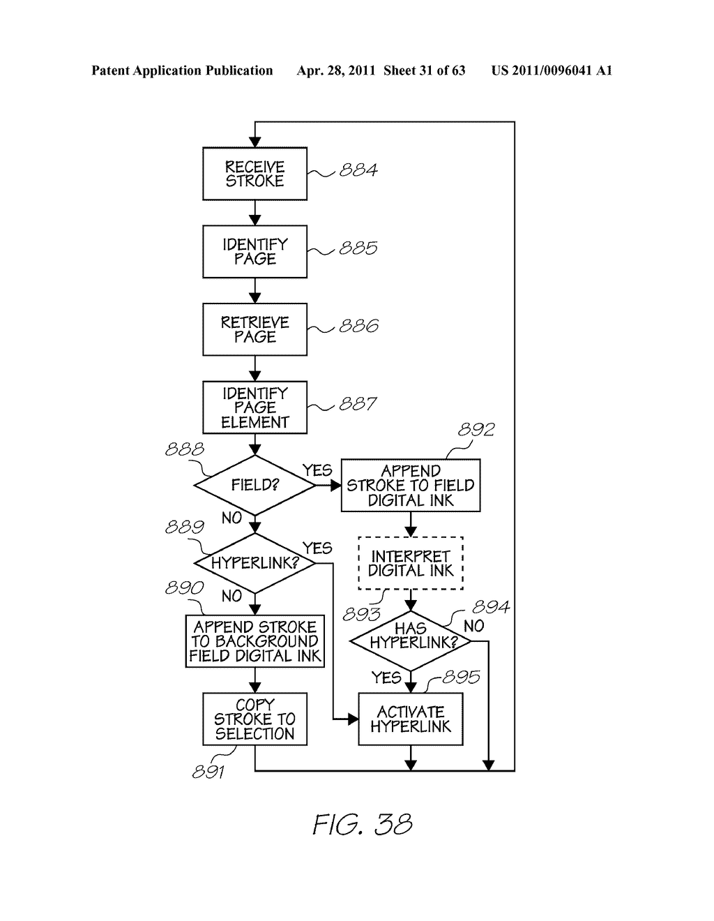 METHOD OF INTERACTING WITH PRINTED SUBSTRATE - diagram, schematic, and image 32