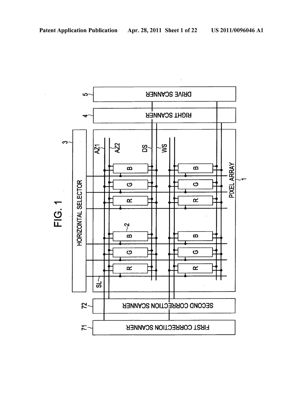 Display apparatus, method of driving a display, and electronic device - diagram, schematic, and image 02