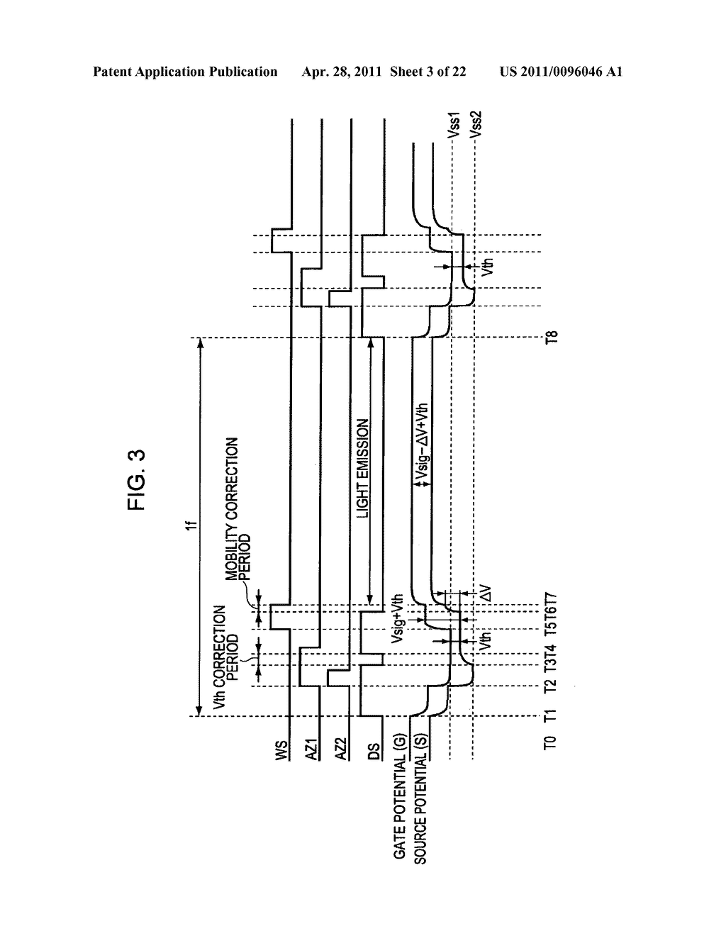 Display apparatus, method of driving a display, and electronic device - diagram, schematic, and image 04