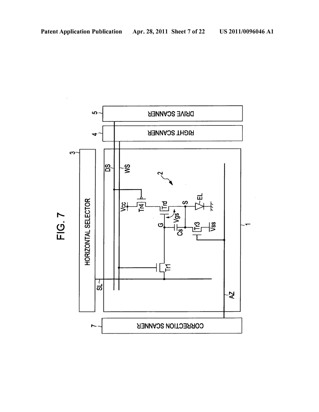 Display apparatus, method of driving a display, and electronic device - diagram, schematic, and image 08