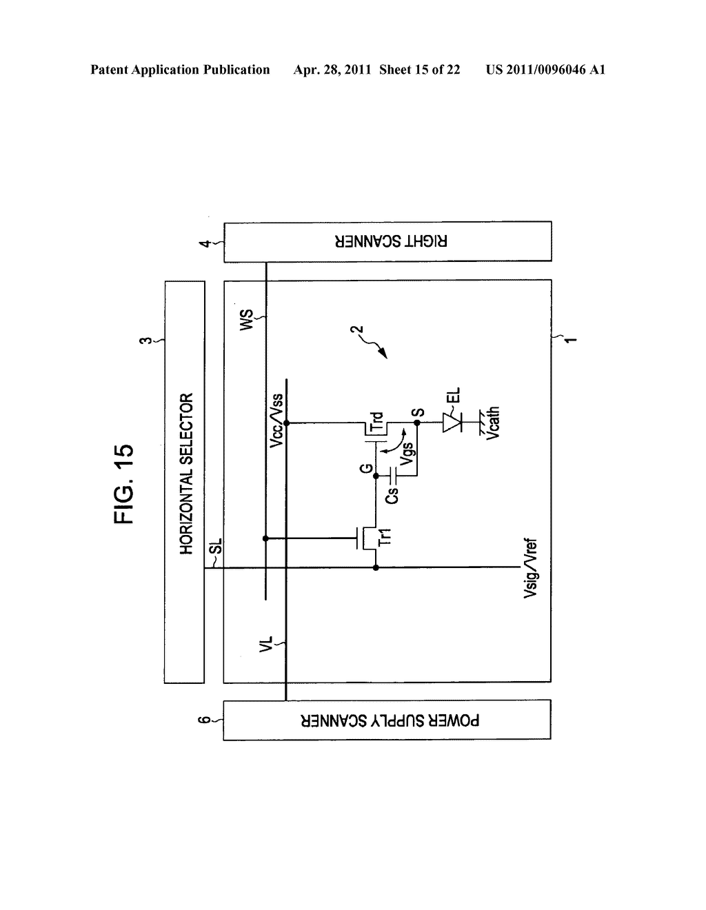 Display apparatus, method of driving a display, and electronic device - diagram, schematic, and image 16