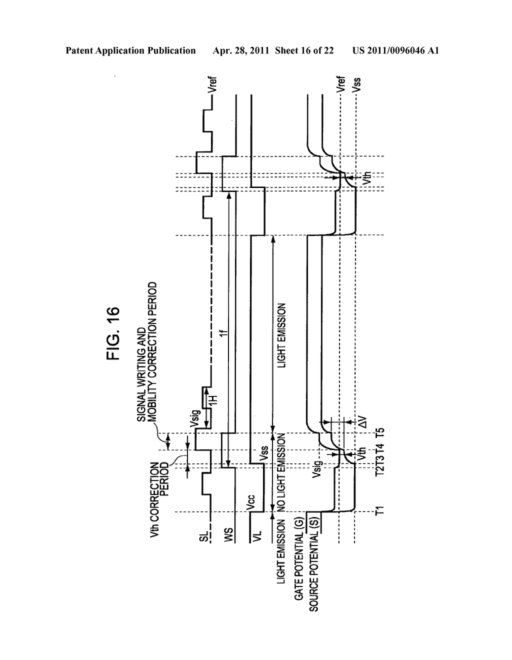 Display apparatus, method of driving a display, and electronic device - diagram, schematic, and image 17