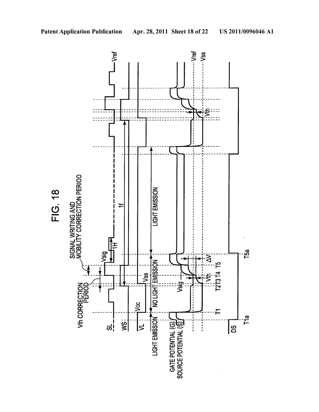 Display apparatus, method of driving a display, and electronic device - diagram, schematic, and image 19