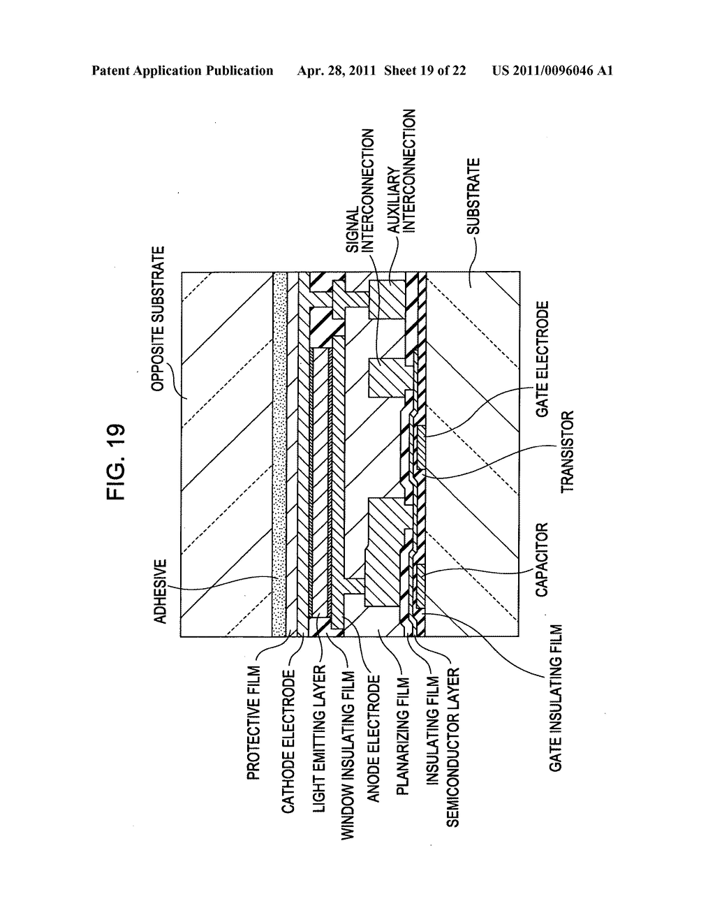Display apparatus, method of driving a display, and electronic device - diagram, schematic, and image 20