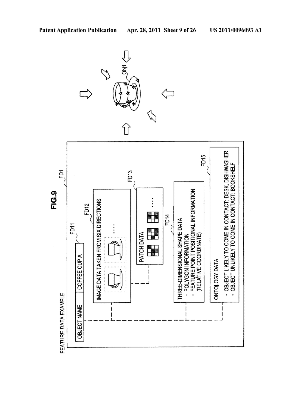 IMAGE PROCESSING DEVICE, IMAGE PROCESSING METHOD AND PROGRAM - diagram, schematic, and image 10