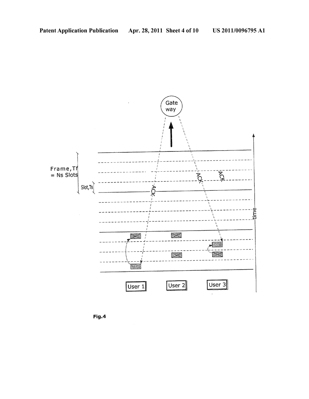METHOD FOR CONTENTION RESOLUTION IN TIME-HOPPING OR FREQUENCY-HOPPING - diagram, schematic, and image 05