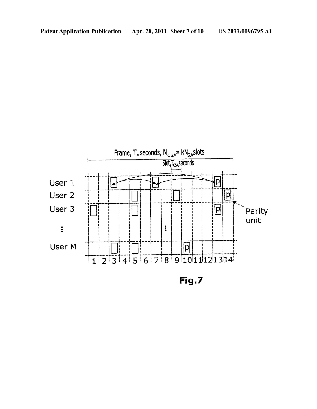METHOD FOR CONTENTION RESOLUTION IN TIME-HOPPING OR FREQUENCY-HOPPING - diagram, schematic, and image 08