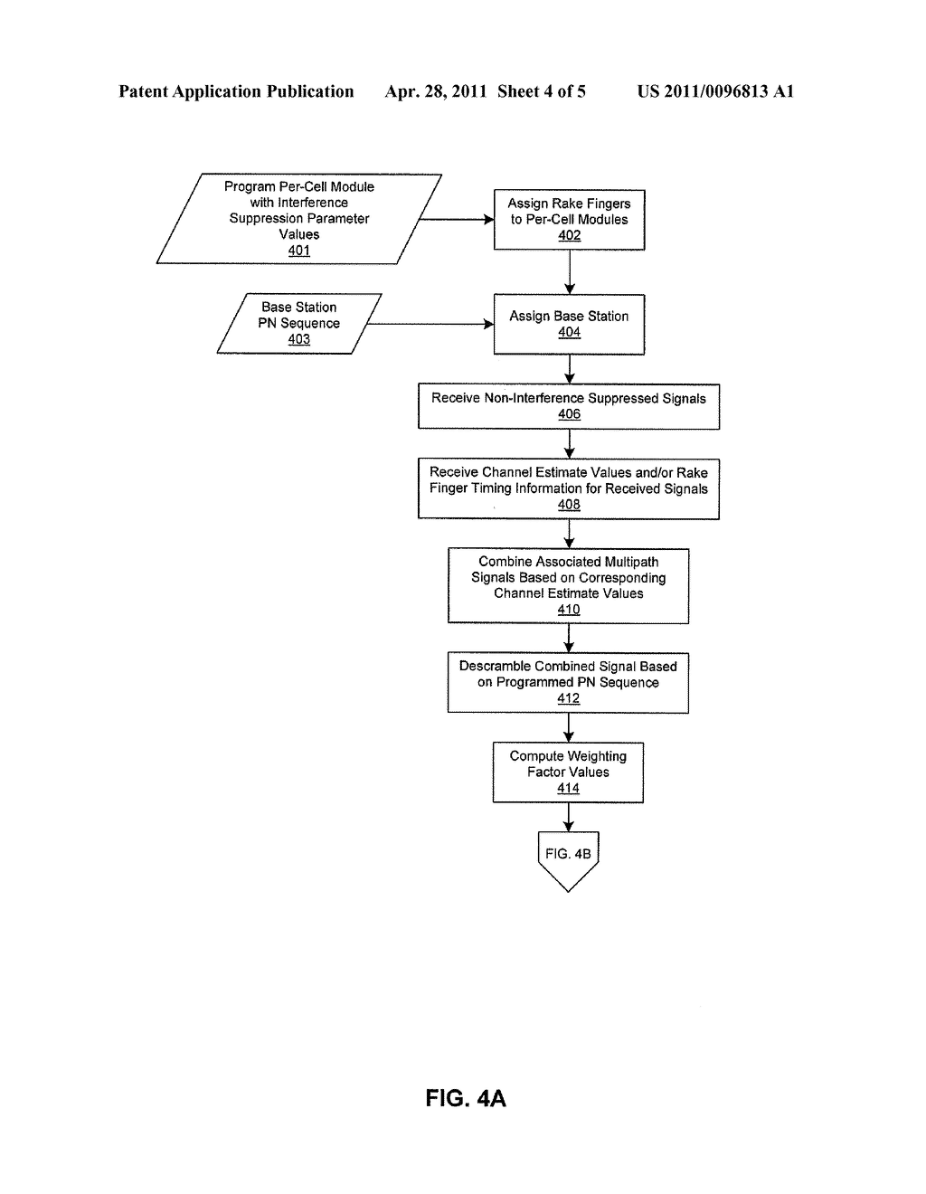 METHOD AND SYSTEM FOR INTERFERENCE SUPPRESSION BETWEEN MULTIPATH SIGNALS UTILIZING A PROGRAMMABLE INTERFACE SUPPRESSION MODULE - diagram, schematic, and image 05