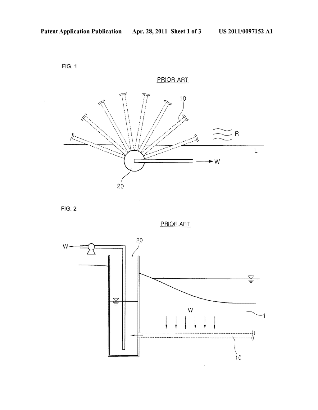 HELICALLY-REINFORCED HORIZONTAL WATER-GATHERING PIPE HAVING MULTI-DIAMETER AND METHOD OF INSERTING THE HELICALLY-REINFORCED HORIZONTAL WATER-GATHERING PIPE - diagram, schematic, and image 02